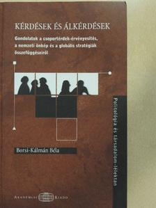 Borsi-Kálmán Béla - Kérdések és álkérdések [antikvár]
