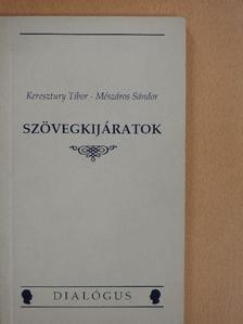 Keresztury Tibor - Szövegkijáratok [antikvár]