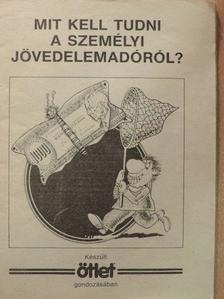 Herczog László - Mit kell tudni a személyi jövedelemadóról? [antikvár]