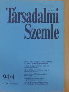 Bruszt László - Társadalmi Szemle 1994. április [antikvár]