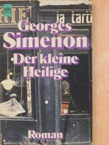 Georges Simenon - Der kleine Heilige [antikvár]