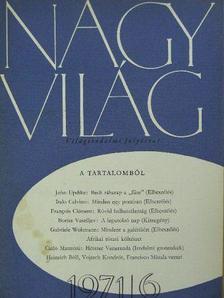 Koltai Tamás - Nagyvilág 1971. (nem teljes évfolyam) [antikvár]