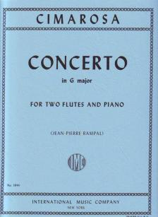 CIMAROSA - CONCERTO IN G MAJOR FOR TWO FLUTES AND PIANO (JEAN-PIERRE RAMPAL)