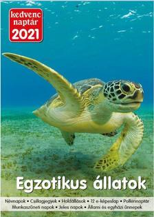 Kedvenc Naptár 2021 Egzotikus állatok