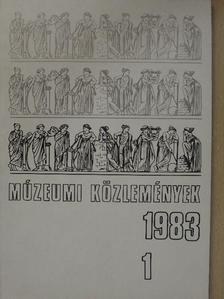 Bakay Kornél - Múzeumi közlemények 1983/1. [antikvár]