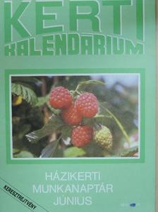 Brányik Tamás - Kerti Kalendárium 1991. június [antikvár]