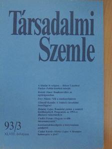 Csehó Ferenc - Társadalmi Szemle 1993. március [antikvár]