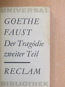 Johann Wolfgang Goethe - Faust II. [antikvár]