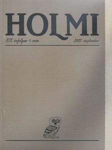 Bertók László - Holmi 2007. szeptember [antikvár]