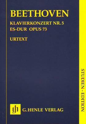 BEETHOVEN - KLAVIERKONZERT NR.5 ES-DUR OP.73 STUDIENPARTITUR URTEXT (H.-W.KÜTHEN)