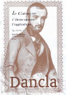 DANCLA - LE CALME DE L'AME APRES L'AGITATION OP.143 NO.2 HEGEDŰ-ZONGORA