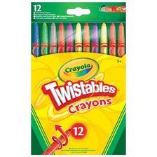 Crayola Csavarozható zsírkréta 12 db-os