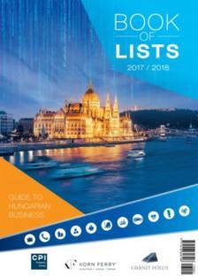 Book of Lists-Listák könyve 2017-2018