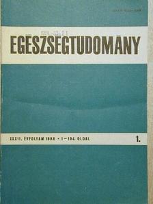 Bíró György - Egészségtudomány 1988/1-4. [antikvár]