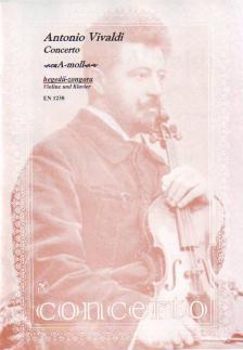 Vivaldi - CONCERTO A-MOLL HEGEDŰ-ZONGORA (NACHÉZ)