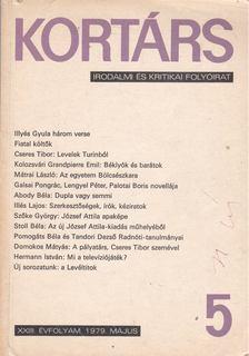Bécsy Tamás - Kortárs 5. 1979. május [antikvár]