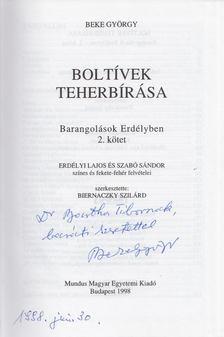 Beke György - Boltívek teherbírása 2. (dedikált) [antikvár]