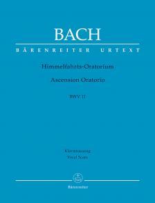 J. S. Bach - HIMMELFAHRTS-ORATORIUM BWV 11, KLAVIERAUSZUG