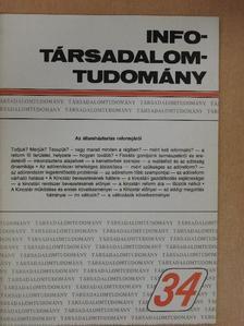 Csillag István - Info-Társadalomtudomány 1995. október [antikvár]