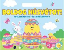Boldog húsvétot! - foglalkoztató és színező
