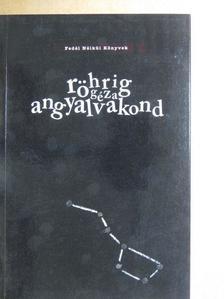 Röhrig Géza - angyalvakond [antikvár]