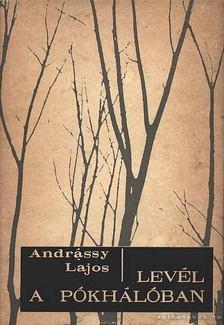 Andrássy Lajos - Levél a pókhálóban [antikvár]