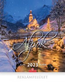 Alpok - Falinaptár 2022 (30X34)