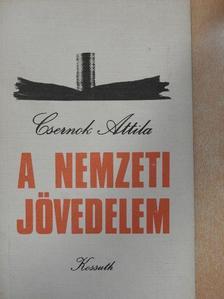 Csernok Attila - A nemzeti jövedelem [antikvár]