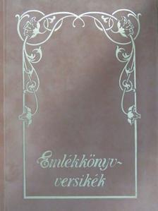 Arany János - Emlékkönyvversikék [antikvár]