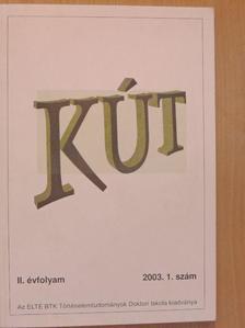 Beck Tibor - KÚT 2003/1. [antikvár]