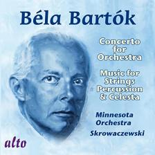 Bartók Béla - CONCERTO FOR ORCHESTRA, MUSIC FOR STRINGS PERCUSSION & CELESTA CD