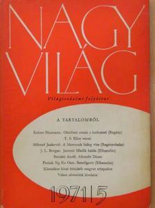 Réz Pál - Nagyvilág 1971. május [antikvár]