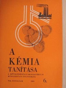 Dr. Boksay Zoltán - A kémia tanítása 1969/6 [antikvár]