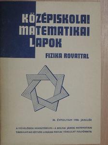 B. J. Kogan - Középiskolai matematikai lapok 1988. január [antikvár]