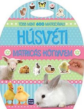 Húsvéti matricás könyvem - Több mint 100 matricával