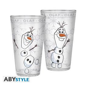 Abysse Europa Kft. - DISNEY - Large Glass - 400ml - Frozen 2 Olaf - ABYVER129 (1 db bögre)
