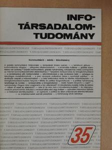 Enyedi György - Info-Társadalomtudomány 1995. december [antikvár]