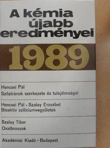 Hencsei Pál - A kémia újabb eredményei 69. [antikvár]