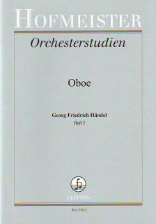 HAENDEL - ORCHESTERSTUDIEN FÜR OBOE: HAENDEL HEFT 2 (WALTER HEINZE)