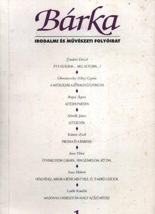 Kántor Zsolt - Bárka 1993/1. [antikvár]