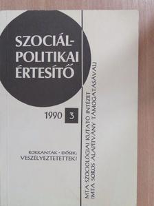 Bárdos Kata - Szociálpolitikai értesítő 1990/3. [antikvár]