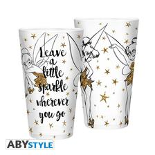 Abysse Europa Kft. - DISNEY - Large Glass - 400ml - Tinkerbell Gold - Glitter - ABYVER117