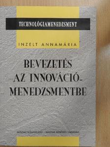 Balogh Tamás - Bevezetés az innovációmenedzsmentbe [antikvár]