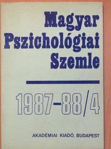 Bagdy Emőke - Magyar Pszichológiai Szemle 1987-88/4. [antikvár]