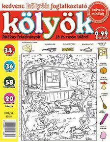 CSOSCH KIADÓ - Kedvenc Kölyök Foglalkoztató 34.