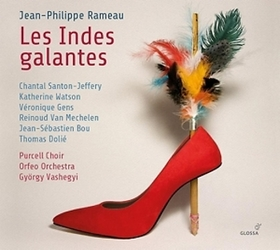 RAMEAU - LES INDES GALANTES 2CD VASHEGYI GYÖRGY