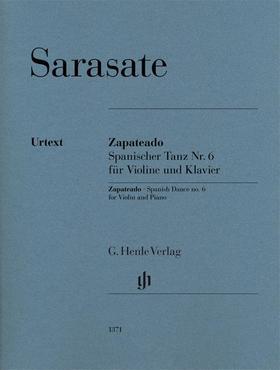 SARASATE - ZAPATEADO. SPANISCHER TANZ NR.6 FÜR VIOLINE UND KLAVIER