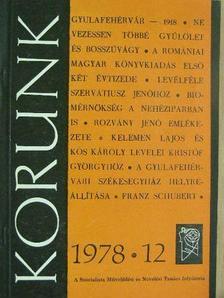 Bágyuj Lajos - Korunk 1978. december [antikvár]