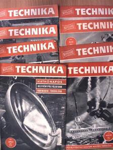 B. N. Dolgov - Népszerű Technika 1961. (nem teljes évfolyam) [antikvár]