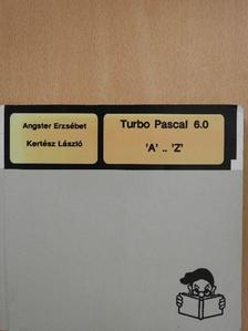 Angster Erzsébet - Turbo Pascal 6.0 (dedikált példány) [antikvár]